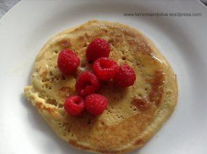 Millet gluten-free pancakes