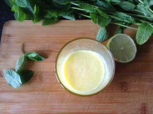 Pineapple, ginger, lime juice
