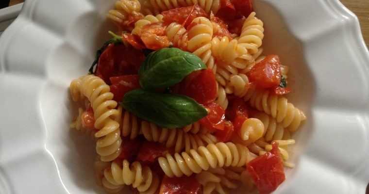 Authentic Italian tomatoes sauce