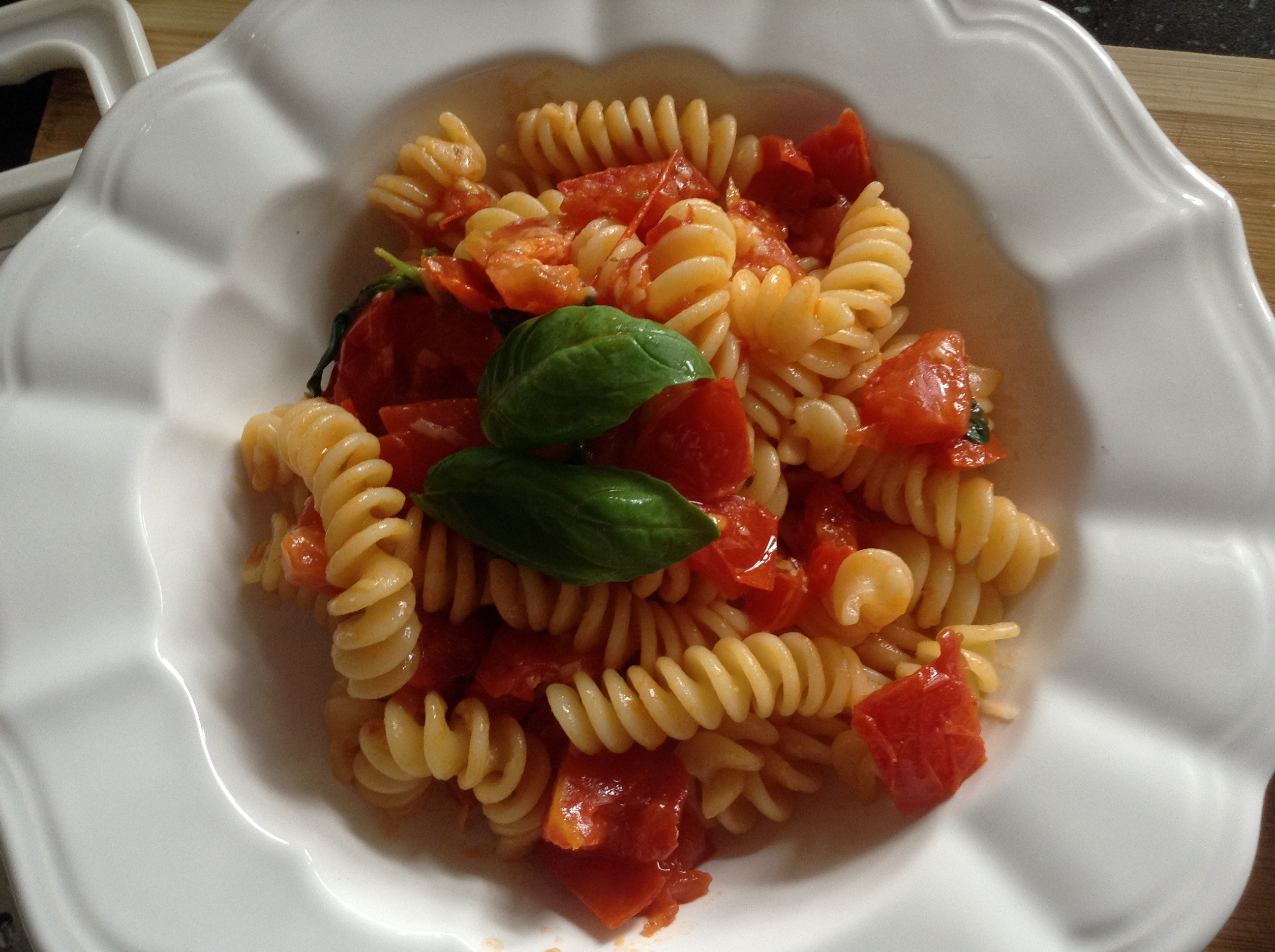 Authentic Italian tomatoes sauce