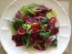 Italian rainbow salad