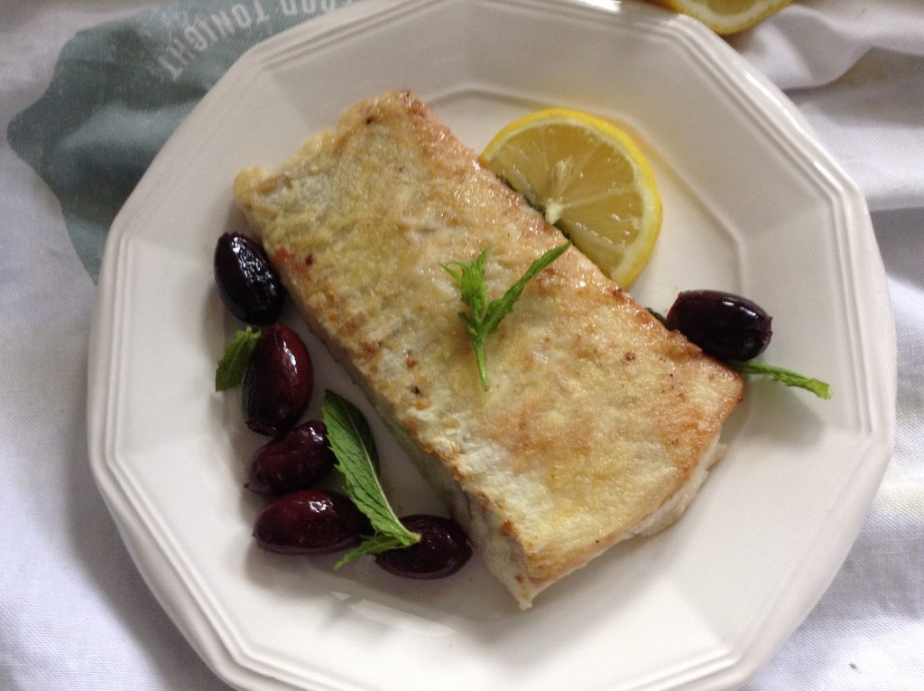 Smocked haddock mint recipe