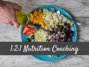1:2:1 Nutrition Coaching
