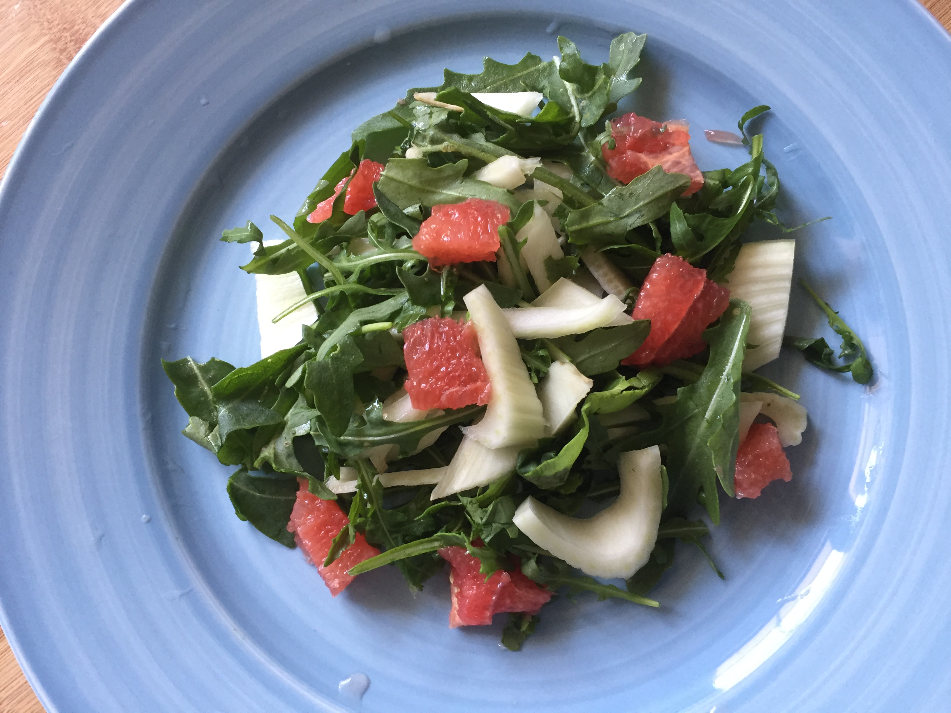 Fennel, rocket & grapefruit salad