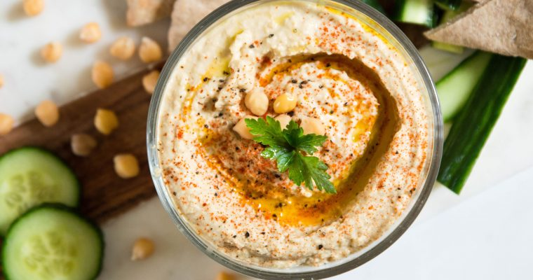How to make basic hummus