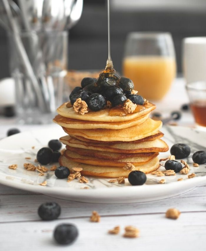 Gluten-free+ dairy-free + nuts-free pancakes