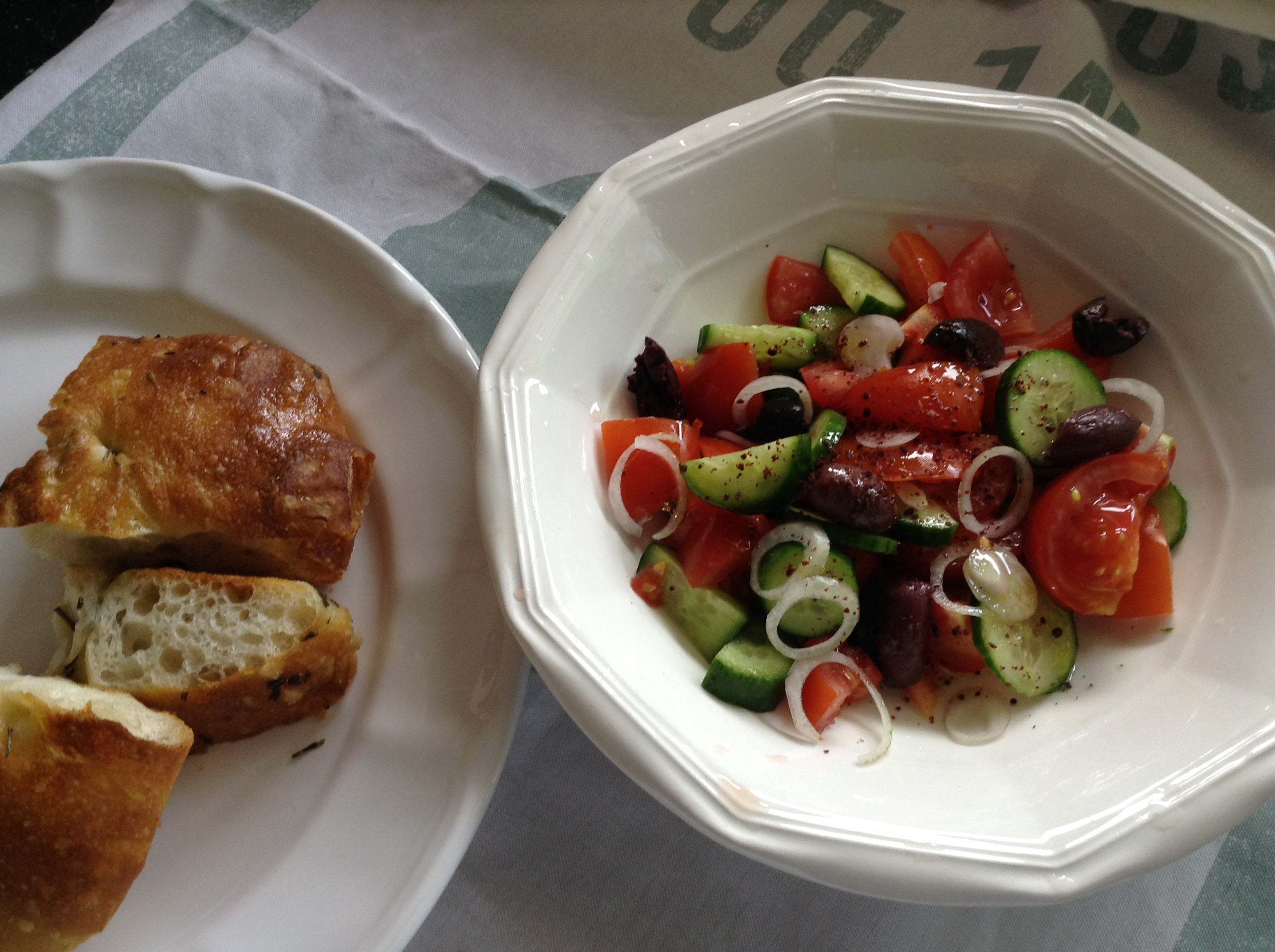 Sumac Greek salad