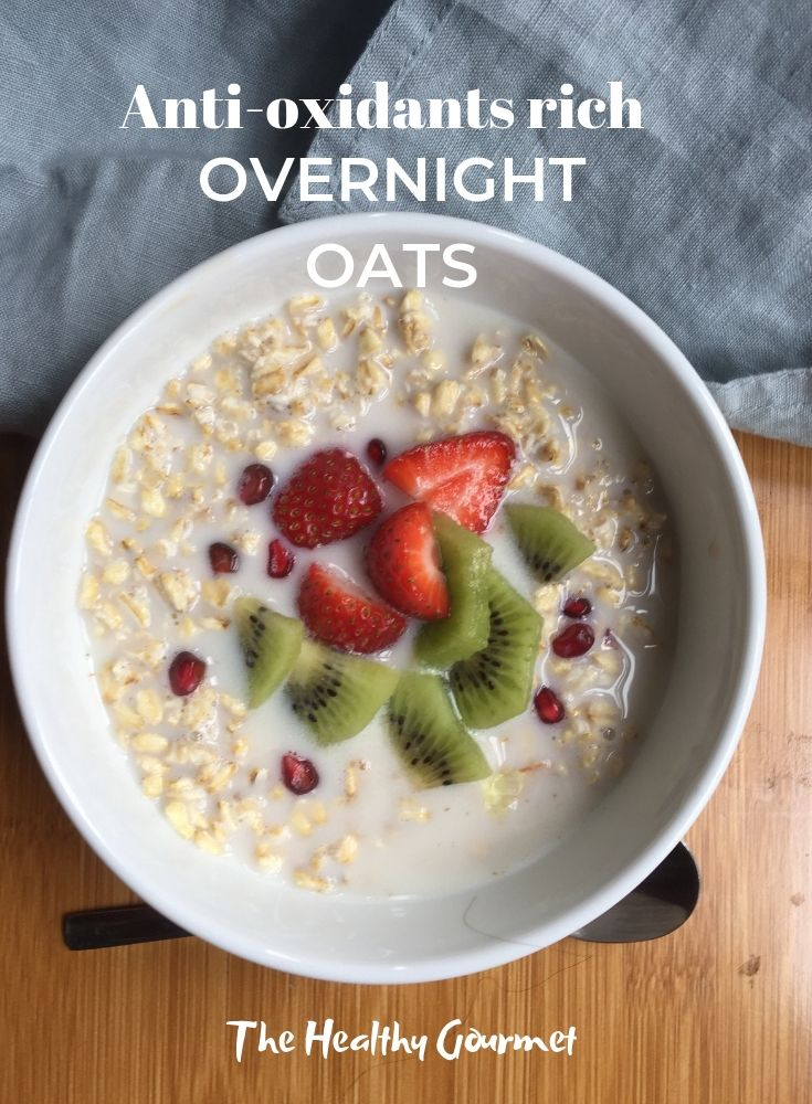 how to make healthy overnight oats