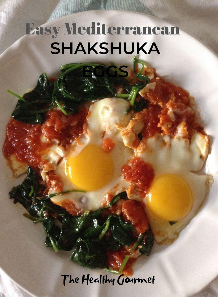 Mediterranean Shakshuka eggs recipe