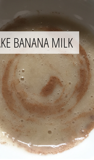 How to make banana milk