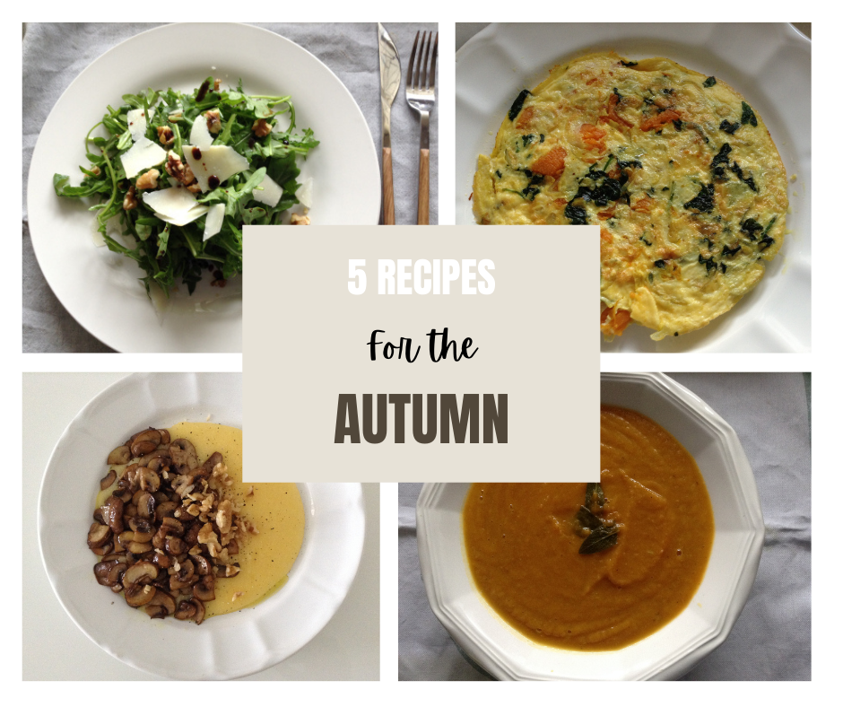 5 recipes for the Autumn