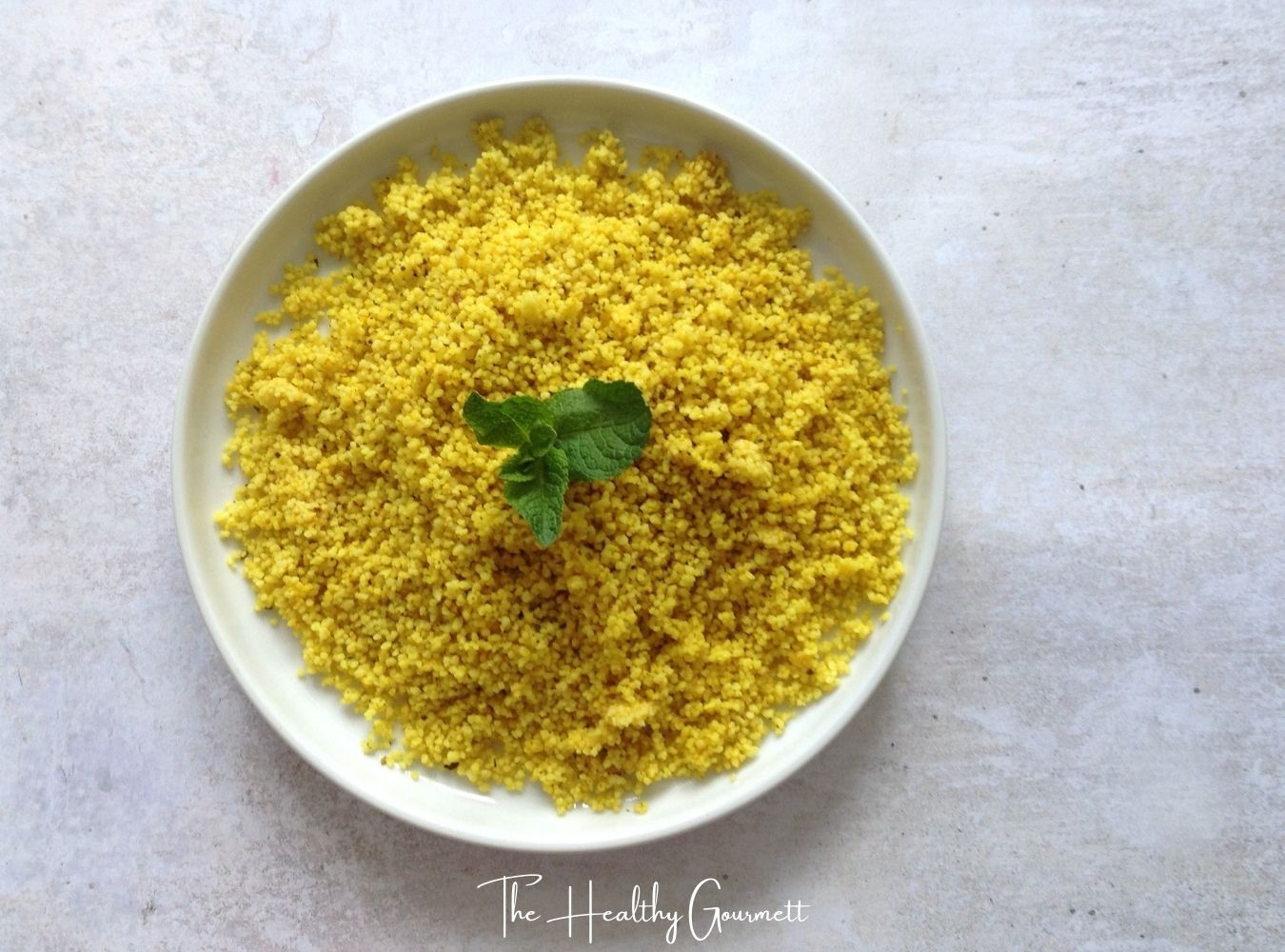 How to make golden cous-cous