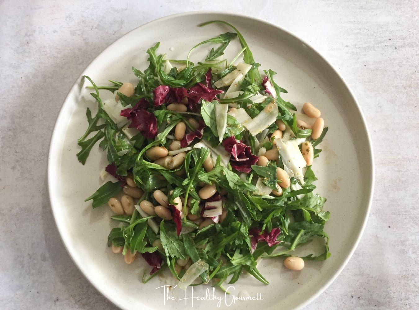 Fennel & white beans salad