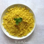 Zataar and turmeric golden cous-cous
