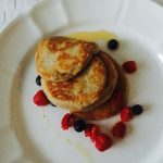 My favorite: rye, cinnamon & yogurt pancakes